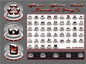 Red_Glass _Icons