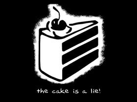Portal's cake