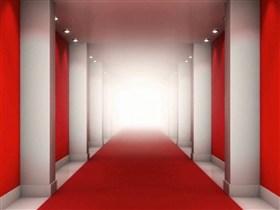 the red carpet hallway