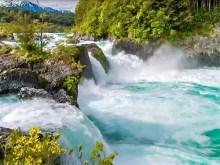 blue rapid falls