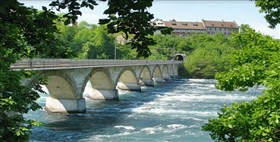 Bridge Rhine Falls