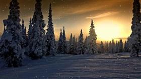 Canada Wintersunset