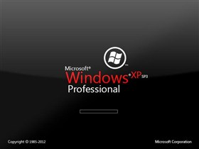 Microsoft Windows XP SP3 Professional Glass