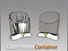 Glass Waste Container