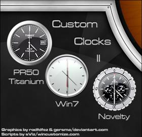 Custom Clocks II