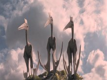 The Three Stooges Pteranodon 2