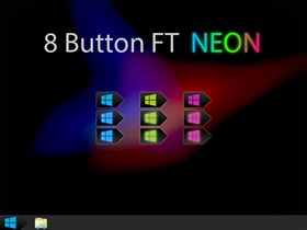 8 Button FT Neon