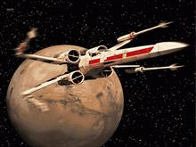X-Wing bootskin