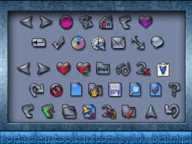 sorta clear toolbar icons