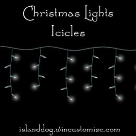 Christmas Lights - Icicles