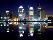Detroit by Night