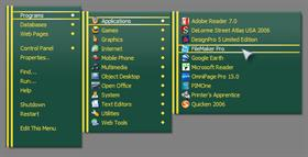 British Racing Green RightClick Menu