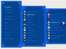 Blue Neon RightClick Menu
