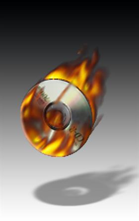 Burning cd (Animated)