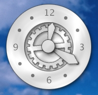 Pearl Imagine Clock
