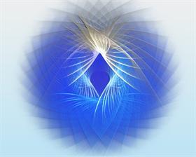 Soft Blue Swirl
