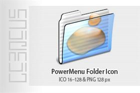 PowerMenu Folder Icon