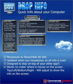 Drop Info