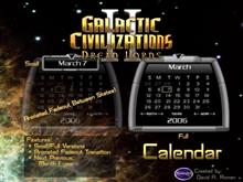 GalCiv II Calendar