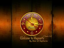 Welcome to Hogwarts Clock 3.2
