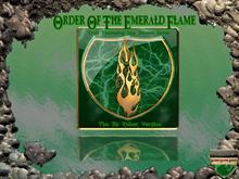 Order Of The Emerald Flame (The Sir Zubaz Version)