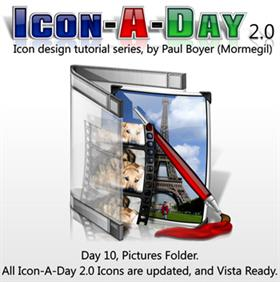Icon-A-Day 2.0, Day 10, Pictures Folder