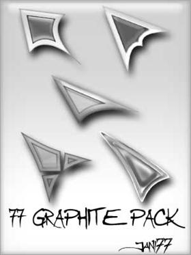 77 graphite pack
