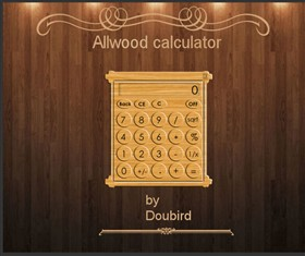 Allwood calculator