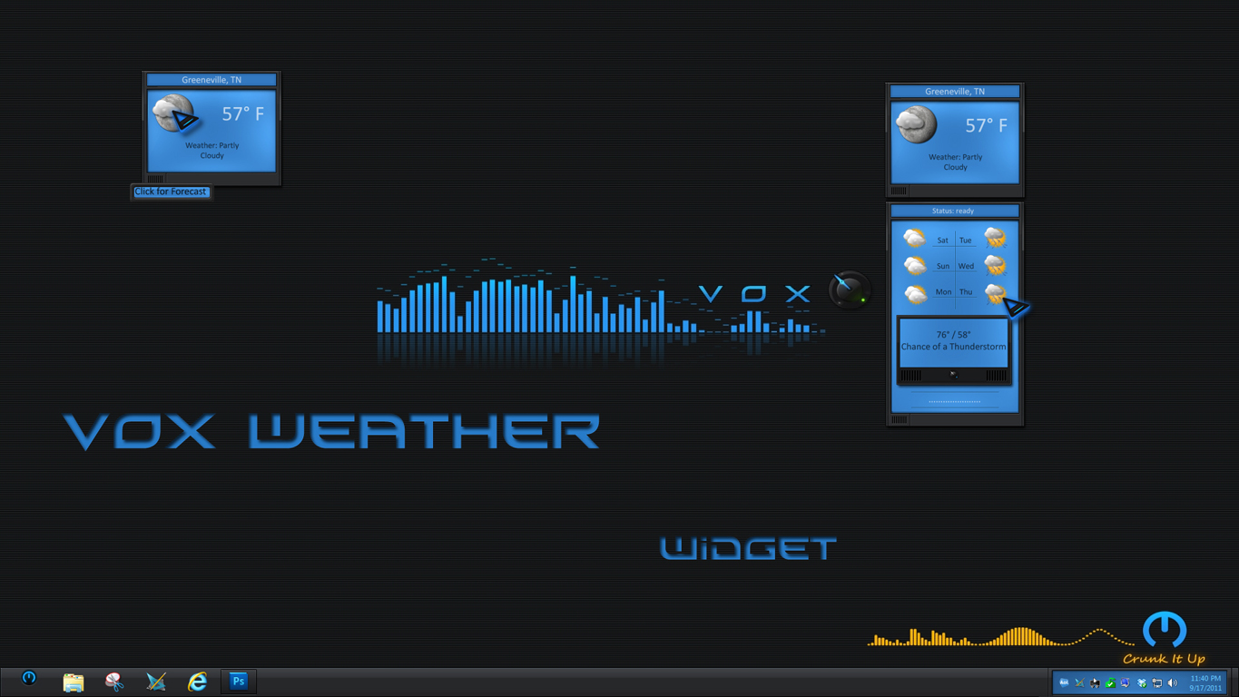 VOX Weather Widget II