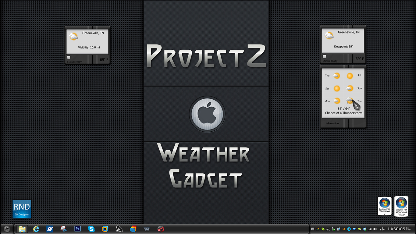 ProjectZ Weather Gadget