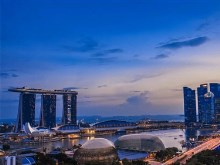 4K Singapore Day to Night