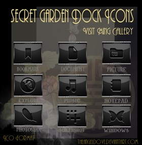 Secret Garden Dock Icons