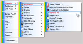 The Kids' Room RightClick Menu