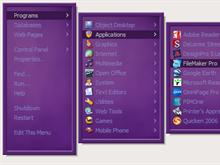 Deep Purple RightClick Menu