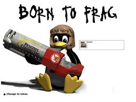 Linux Born to Frag