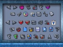 sorta clear toolbar icons