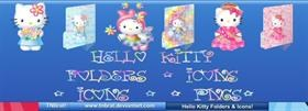 Hello Kitty Folders Etc 1